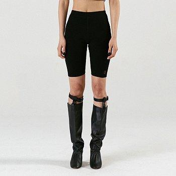 Rib Bike Shorts Black