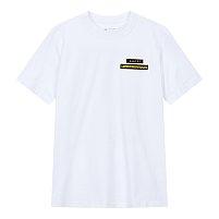 로고 패치 포인트 티셔츠