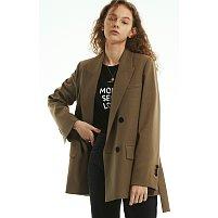 컨투어링 트렌치 재킷