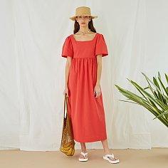 DANTE DRESS, RED