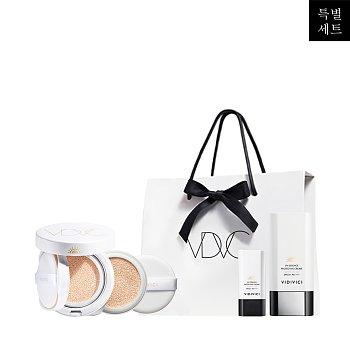 [선물포장] 유브이 사틴 피니시 + 에센스 선쿠션