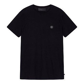 헥사곤 로고 패치 티셔츠