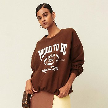 Youth Pullover Brwon