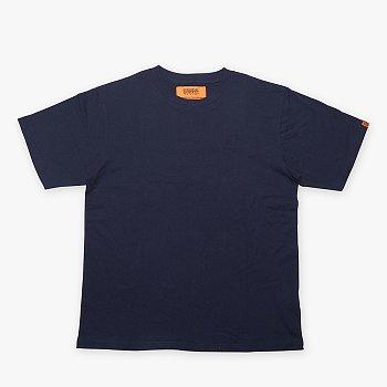 유니버셜 오버롤 플레인 티셔츠 네이비