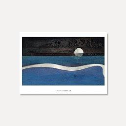 [막스 에른스트]Max Ernst — Humboldt Current  100 x 70 cm(원목 프레임)