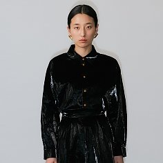 TYVEK SHIRT (BLACK)