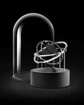 BERNARD FAVRE Planet Double-Axis Silver Ref. 109900