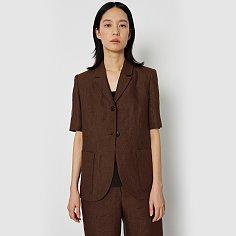 Sienna linen jacket