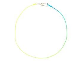 [Annelise Michelson] 투톤 Wire cord 브레이슬릿