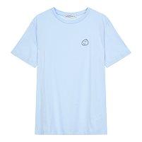 [ETRE CECILE] 스마일 자수 크루넥 티셔츠