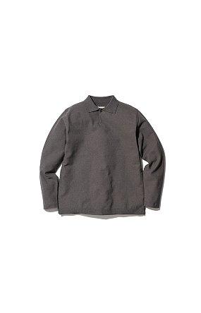 Co/Pe Dry Polo Shirt 스노우 피크 드라이 폴로 셔츠 그레이
