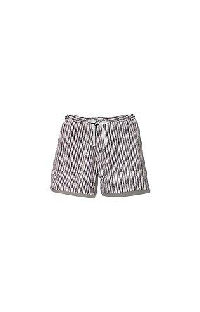 Printed Quick Dry Shorts 스노우 피크 프린트 퀵 드라이 쇼츠 에크로네이비