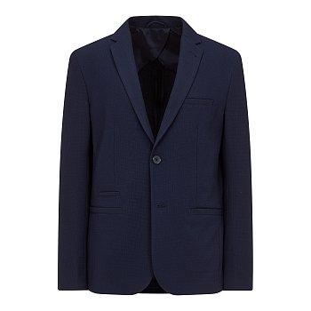 텍스처드 패턴 싱글 자켓