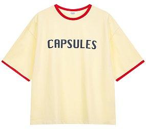 CAPSULE 프린트티셔츠
