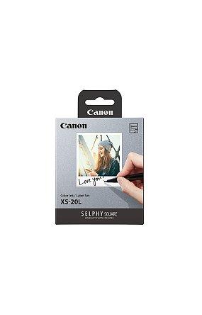 캐논 정품 컴팩트 포토 프린터 QX10 전용지 XS-20L (QX10 전용 용지 & 카트리지)