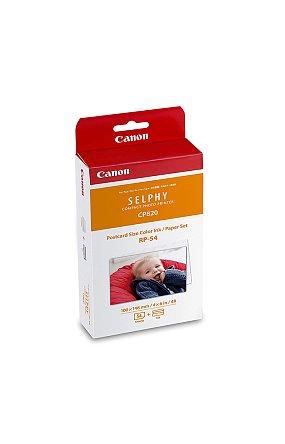 캐논 정품 포토 프린터 CP1300 전용지 RP-54 (엽서 사이즈 54매 일반용지)