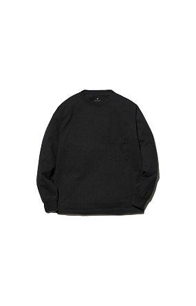 라이프 밸류 어패럴 Heavy Cotton L/S Tshirt 헤비 코튼 티셔츠 블랙