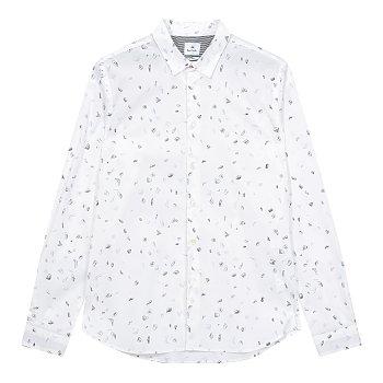 [PS PAUL SMITH] 패턴드 슬림 핏 이지 셔츠