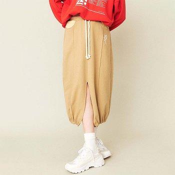 Wild Rose jersey Skirt Beige