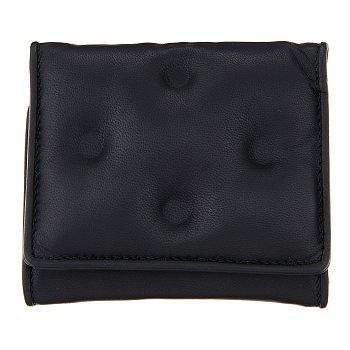 글램 슬램 로고 장식 지갑