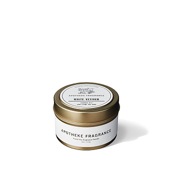 [Apotheke Fragrance] 트래블 틴 캔들 WHITE VETIVER