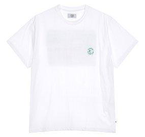 [ESSENTIAL] 프린팅 웨이브 티셔츠