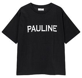 폴린느 레터링 티셔츠