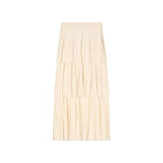 CAN CAN LACE SKIRT - IVORY