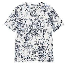 [Erdem] 플라워 티셔츠