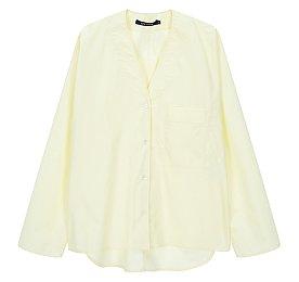 [Sofie D'Hoore] 원 포켓 브이넥 셔츠