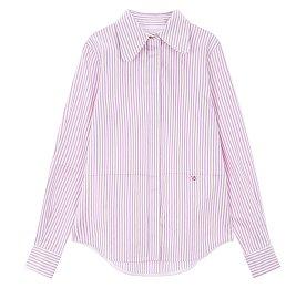 [Victoria Beckham] 와이드카라 스트라이프 셔츠