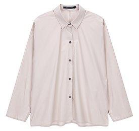 [Sofie D'Hoore] 오버 핏 카라 셔츠