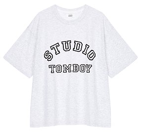 아치 로고 티셔츠