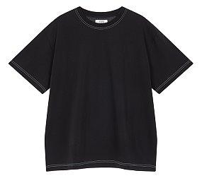 백 레터링 티셔츠