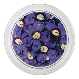 [John Derian] Purple Primula 코스터 (4 inch)