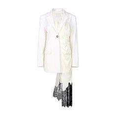 ★모델 한혜진 착용★ [21SS NEW] Unbalanced Dress Jacket