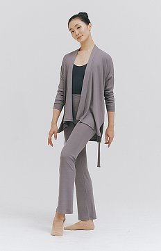 ASH BROWN MODAL® SHORT GOWN AND PANTS SET