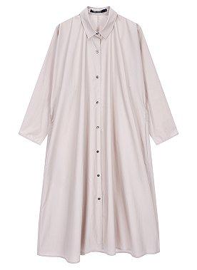 [Sofie D'Hoore] 오버 핏 셔츠 원피스