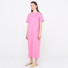 Jersey Long Dress_Pink