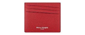 패턴 레더 카드 지갑