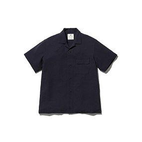 Quick Dry Crepe Weave Soft Shirt 스노우 피크 웨이브 소프트 셔츠 블랙