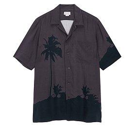 [Dries Van Noten] 원포켓 오픈카라 셔츠 (남성)
