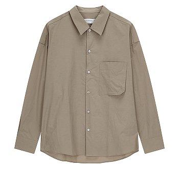 [CASUAL] 백플랩 오버핏 셔츠