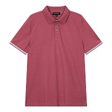 [CORE TEMP] 슬리브 배색 포인트 피케 셔츠