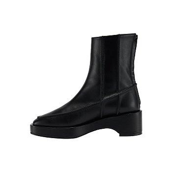 RM4-SH034 / Pinch Stitch Mid-Calf Boots