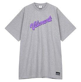 [Vetements] 로고 반팔 티셔츠 (남성)