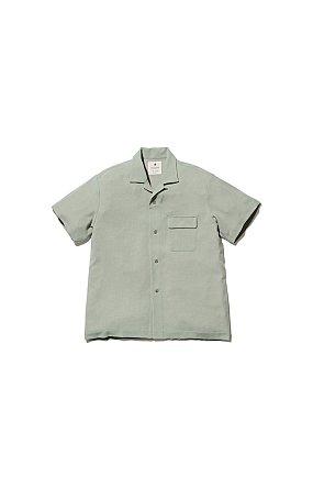 Quick Dry Crepe Weave Soft Shirt 스노우 피크 웨이브 소프트 셔츠 세이지