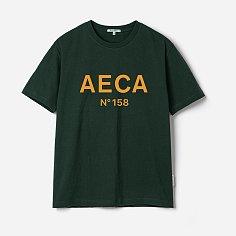 AECA BIG LOGO TEE-GREEN