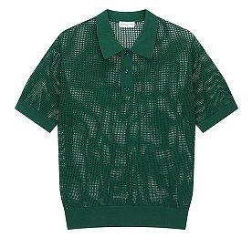 [Dries Van Noten] 메쉬 폴로 티셔츠 (남성)
