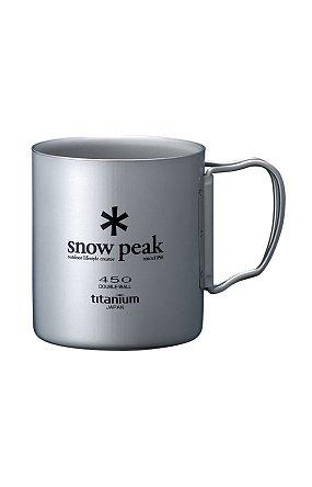 Ti-Double 450 Mug 스노우 피크 티탄 더블 머그 450(R)